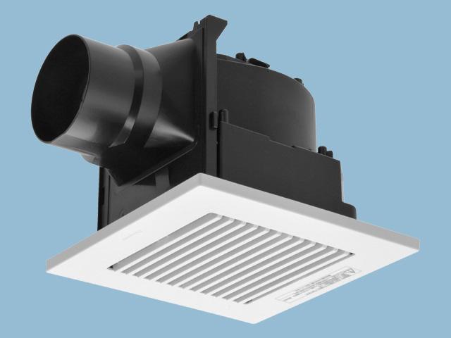 公式 湿気に強い樹脂製で サニタリーを中心に広い用途に設置できます FY-17C8 パナソニック 天井埋込形換気扇 メーカー再生品 排気 ルーバーセットタイプ 適用パイプ径:φ100mm 低騒音形 埋込寸法:177mm角 樹脂製本体