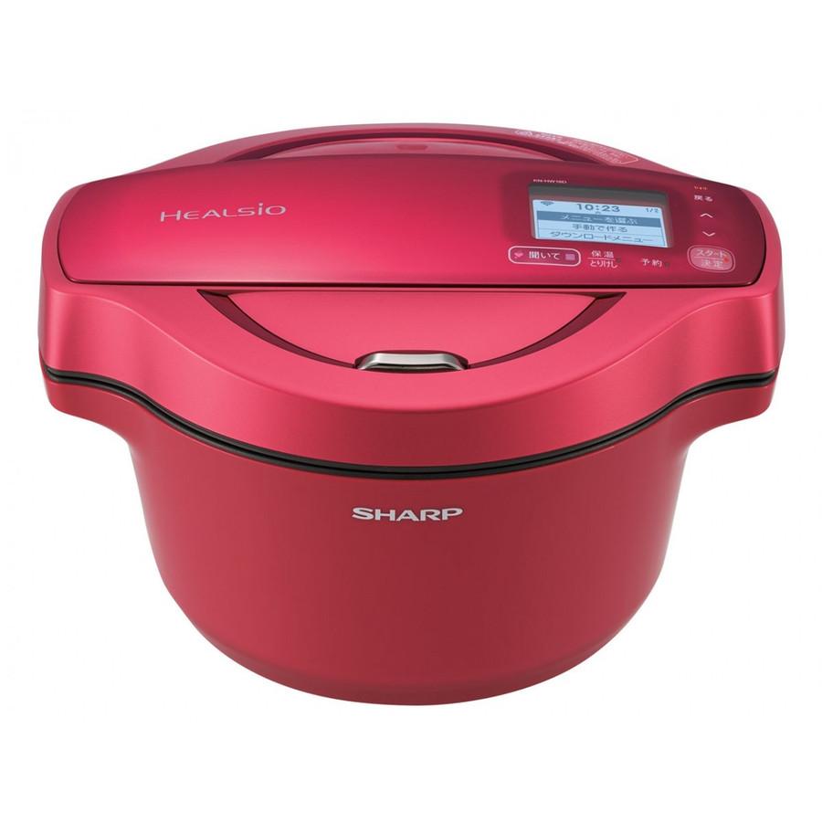 KN-HW16D-R シャープ ヘルシオ シャープ ホットクック 無水調理 ヘルシオ ホットクック 水なし自動調理鍋, ダイトウチョウ:6d308e92 --- officewill.xsrv.jp