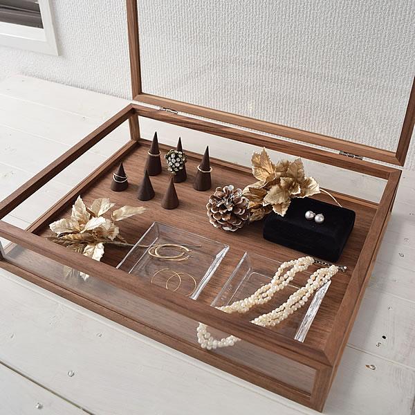 ジュエルボックスL アクセサリー アクセサリーケース ラルース La Luz コレクション 整理 収納 ディスプレイ インテリア 木製 240147
