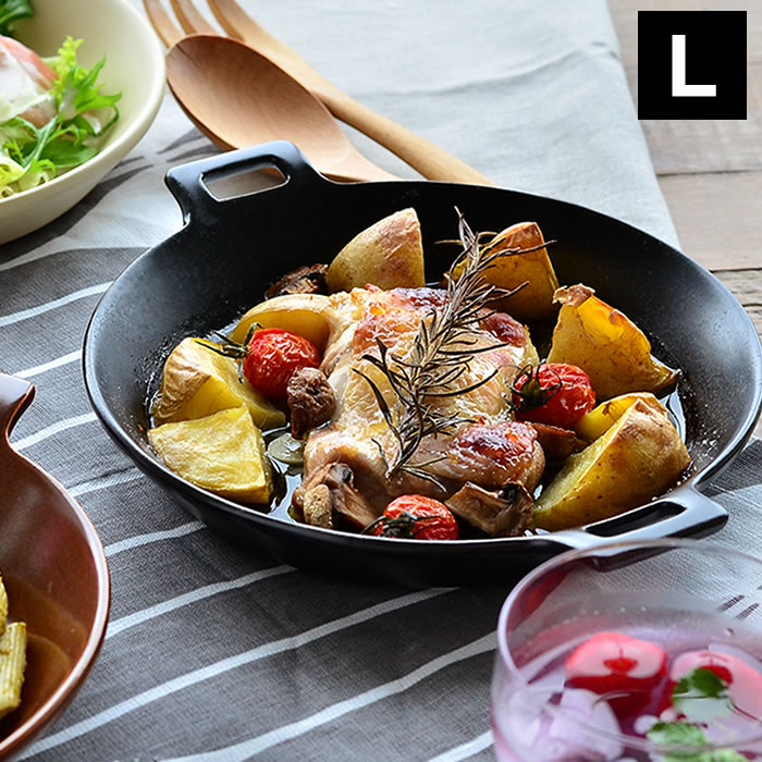 下拵えから食卓まで1枚あればOK♪電子レンジから魚焼きグリル、直火にオーブンも使えるおしゃれなプレート皿。陶器ならではの遠赤外線効果で食材を美味しく♪ ツールズ ディッシュベーカー L グリルパン 耐熱 陶器 電子レンジ 魚焼きグリル オーブン トースター ガスレンジ 直火調理 ワンプレート 遠赤外線 フライパン トースタープレート ロースター イブキクラフト グラタン皿 耐熱皿