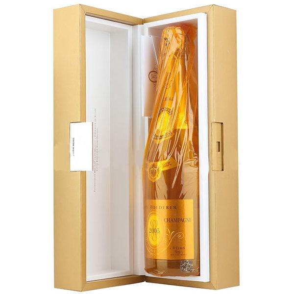 2005 クリスタル ブリュット ヴィンテージ ルイ ロデレール 正規品 化粧箱入り シャンパン 辛口 白 750ml Louis Roederer Cristal Brut Vintage