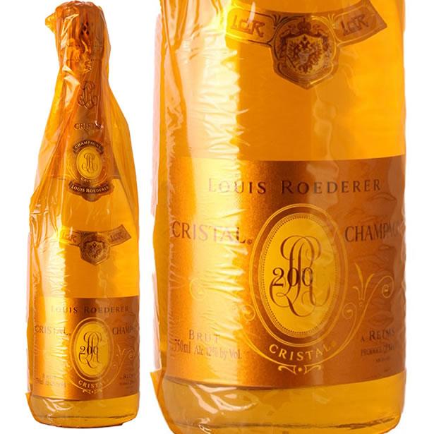 2004 クリスタル ブリュット ヴィンテージ ルイ ロデレール 正規品 シャンパン 白 辛口 750ml Louis Roederer Cristal Brut Vintage