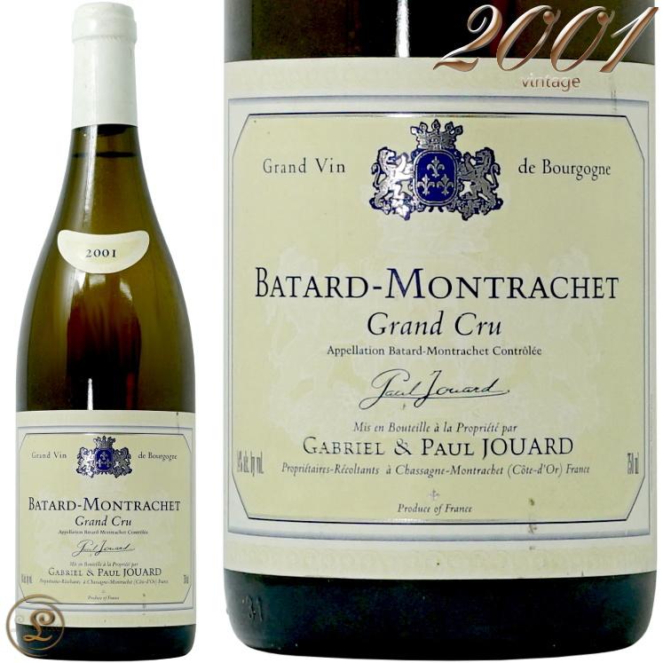 2001バタール モンラッシェ グラン クリュ ジョアール 白ワイン 辛口 フルボディ 750ml Gabriel et Paul Jouar Batard Montrachet Grand Cru