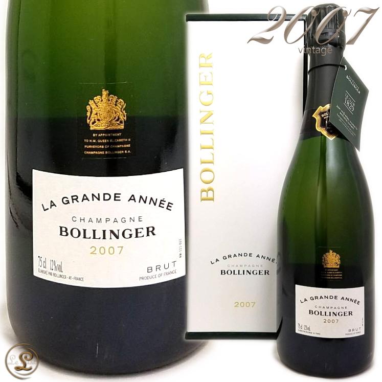 2007 グラン ダネ ブラン ボランジェ 箱入り 正規品 シャンパン 辛口 白 750ml ギフトボックス BBollinger La Grande Annee