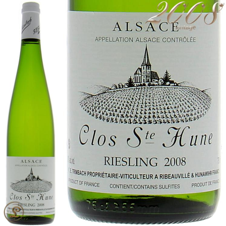 2008 トリンバック リースリング クロ サン テューヌ 白ワイン 辛口 750ml Trimbach Riesling Clos Sainte Hune