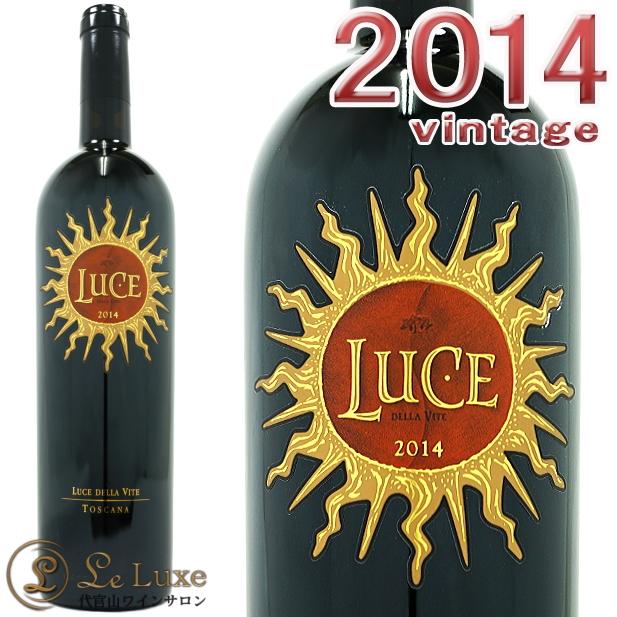 ルーチェ 2014 正規品 赤ワイン 辛口 フルボディ 750mlLuce 2014