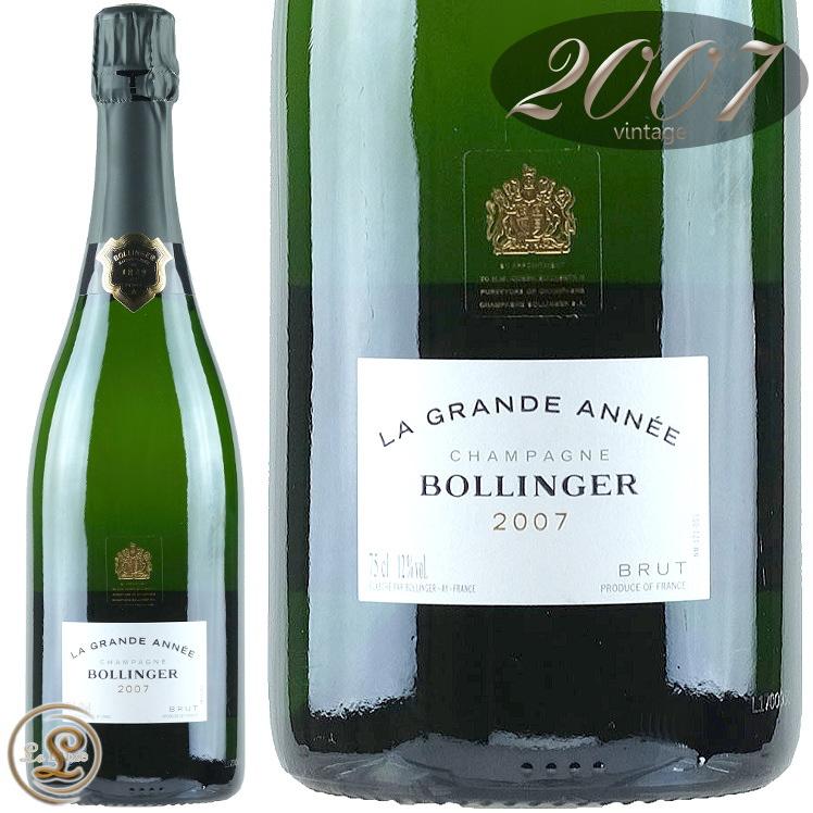2007 ラ グラン ダネ ブラン ボランジェ 正規品 シャンパン 辛口 白 750ml Bollinger La Grande Annee