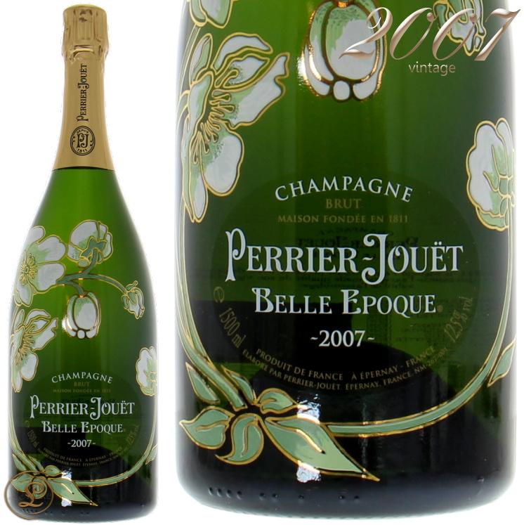 2007 ベル エポック ペリエ ジュエ マグナム ボトル シャンパン 白 辛口 1500ml Perrier Joue Belle Epoque Blanc 2007 Magnum