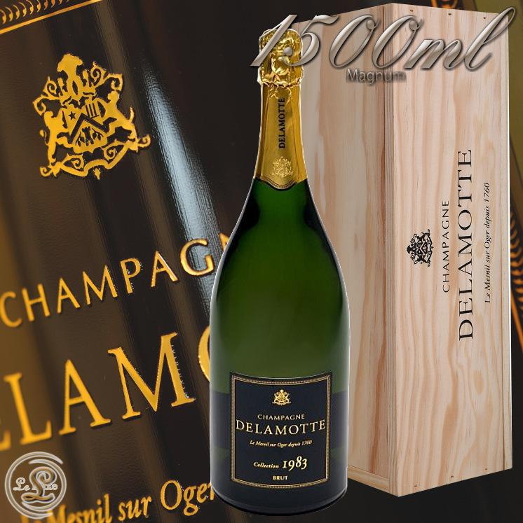 1983 ブリュット コレクション マグナム ドゥラモット 蔵出し 正規品 シャンパン 白 辛口 750ml Delamotte Brut collection