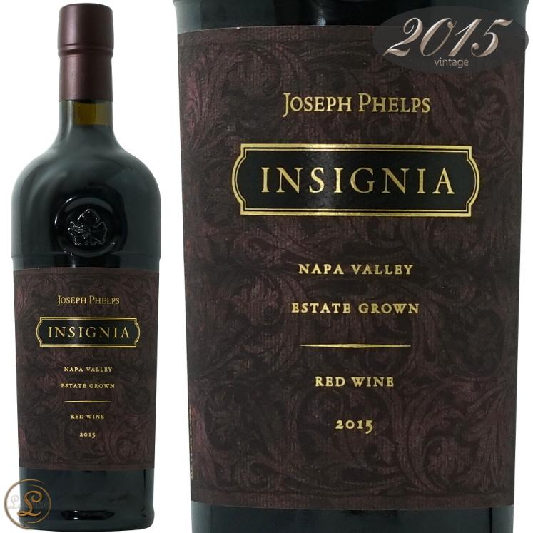 2015 インシグニア ジョセフ フェルプス 正規品 赤ワイン 辛口 フルボディ 750ml Joseph Phelps Vineyards Insignia