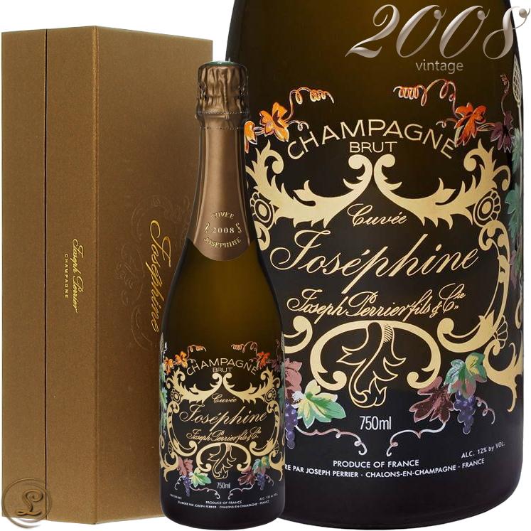 ジョセフ ペリエ キュヴェ ジョセフィーヌ 2008 Giftbox箱入り GIFT シャンパン 辛口 白 750mlJoseph Perrier Cuvee Josephine 2008 BOX