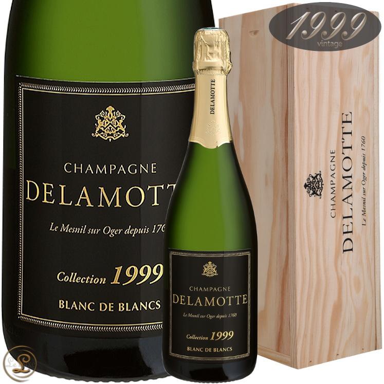 1999 ブラン ド ブラン コレクション ドゥラモット 正規品 シャンパン 辛口 白 750ml Delamotte Brut Blanc de Blancs collection