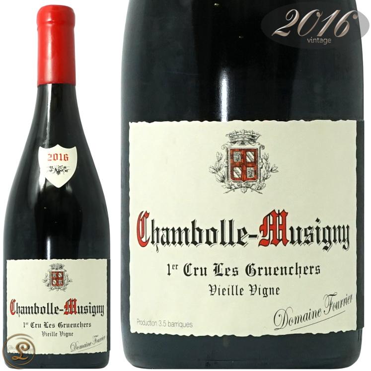 2016 シャンボール ミュジニー プルミエ クリュ レ グリュアンシェール ドメーヌ フーリエ 正規品 赤ワイン 辛口 750ml グリュアンシェ Domaine Fourrier Chambolle Musigny 1er Cru Les Gruenchers Vieilles Vignes