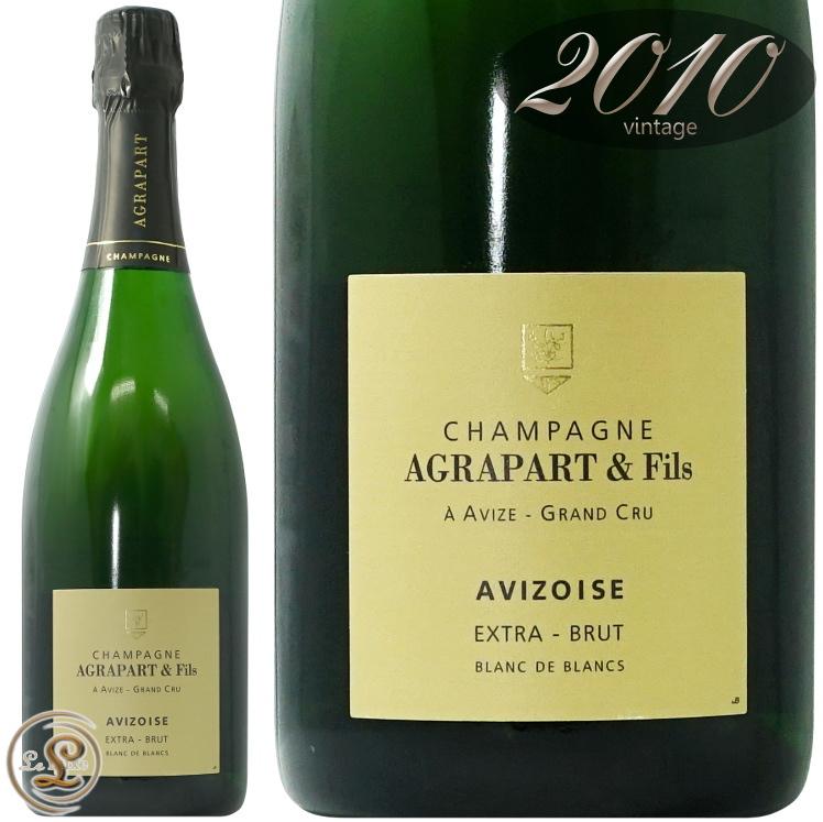2010 ブラン ド ブラン アヴィゾワーズ エキストラ ブリュット グラン クリュ アグラパール 正規品 シャンパン 辛口 白 750ml Agrapart et Fils Blanc de Blancs Avizoise Extra Brut Grand Cru