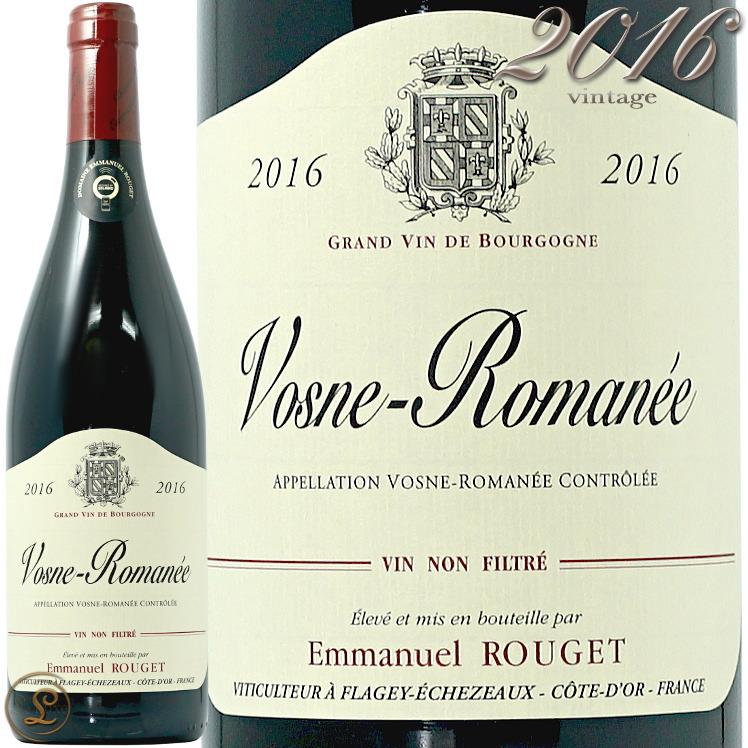 2016 エマニュエル ルジェ ヴォーヌ ロマネ 赤ワイン 辛口 750ml Emmanuel Rouget Vosne Romanee