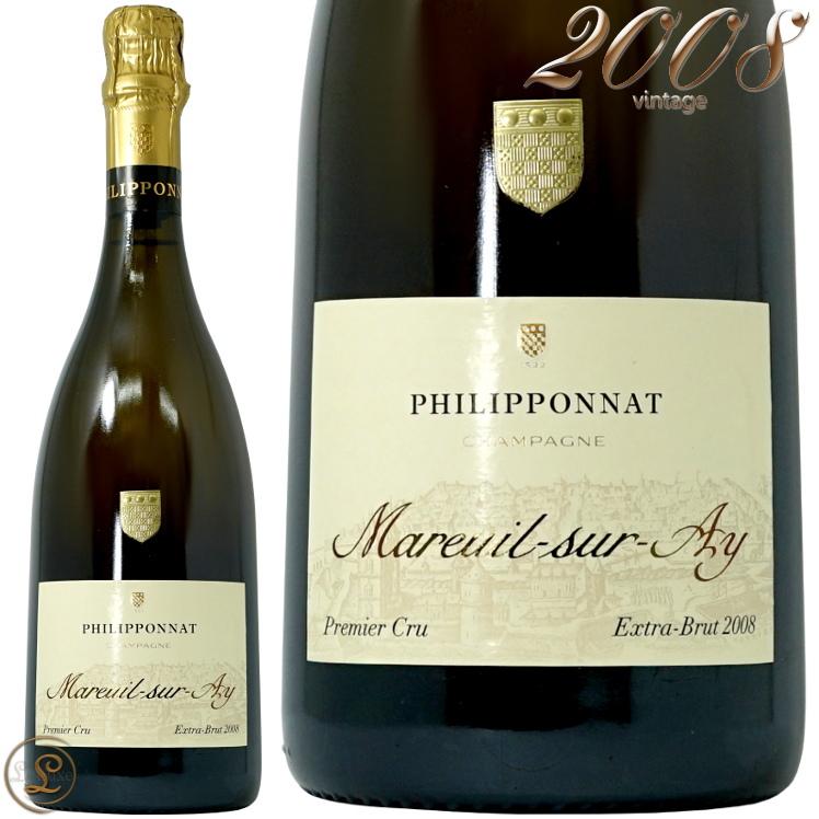 2008 マルイユ シュル アイ フィリポナ 正規品 シャンパン 白 辛口 750ml Philipponat Mareuil sur Ay
