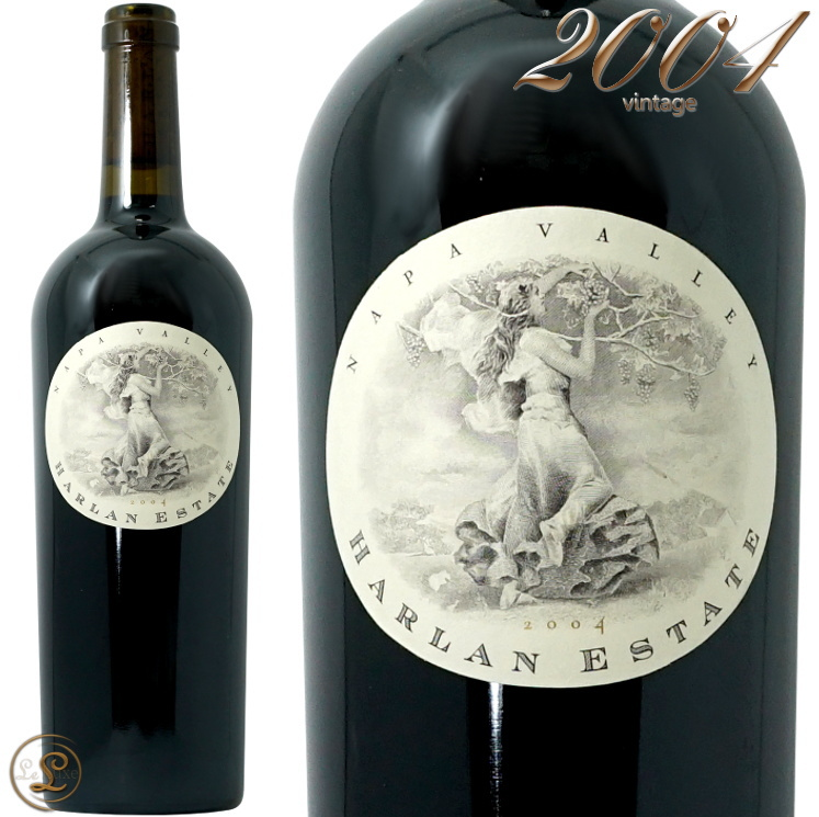 2004 ハーラン エステート 赤ワイン 辛口 フルボディ 750ml Harlan Estate Red Wine Napa Valley
