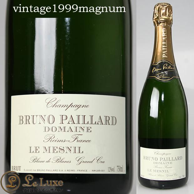 ブルーノ・パイヤール ル・メニル・ブラン・ド・ブラン[1999] マグナム[正規品] シャンパン/辛口/白 [1500ml]