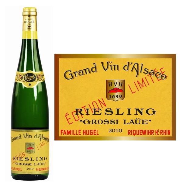 ファミーユ・ヒューゲル リースリング・グロシ・ローイ[2010][正規品] 白ワイン/辛口[750ml] Famille Hugel & Fils Riesling grossi laue 2010