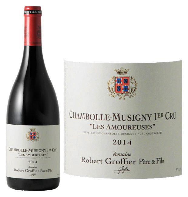 ロベール・グロフィエ シャンボール・ミュジニー・プルミエクリュ・レ・ザムルーズ[2014][正規品] 赤ワイン/辛口[750ml] Robert GroffierChambolle Musigny 1er Cru Les Amoureuses 2014