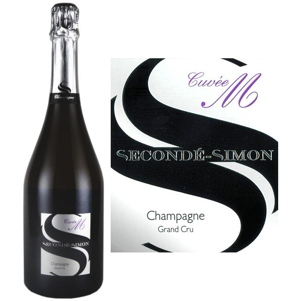 スゴンデ・シモン ブリュット グラン・クリュ・キュヴェM[NV][正規品] シャンパン/辛口/白[750ml] Seconde Simon Brut Grand Cru Cuvee M