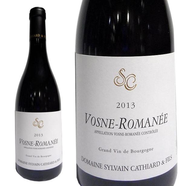 2013 シルヴァン カティアール ヴォーヌ ロマネ 赤ワイン 辛口 750ml Domaine Sylvain Cathiard Vosne Romanee