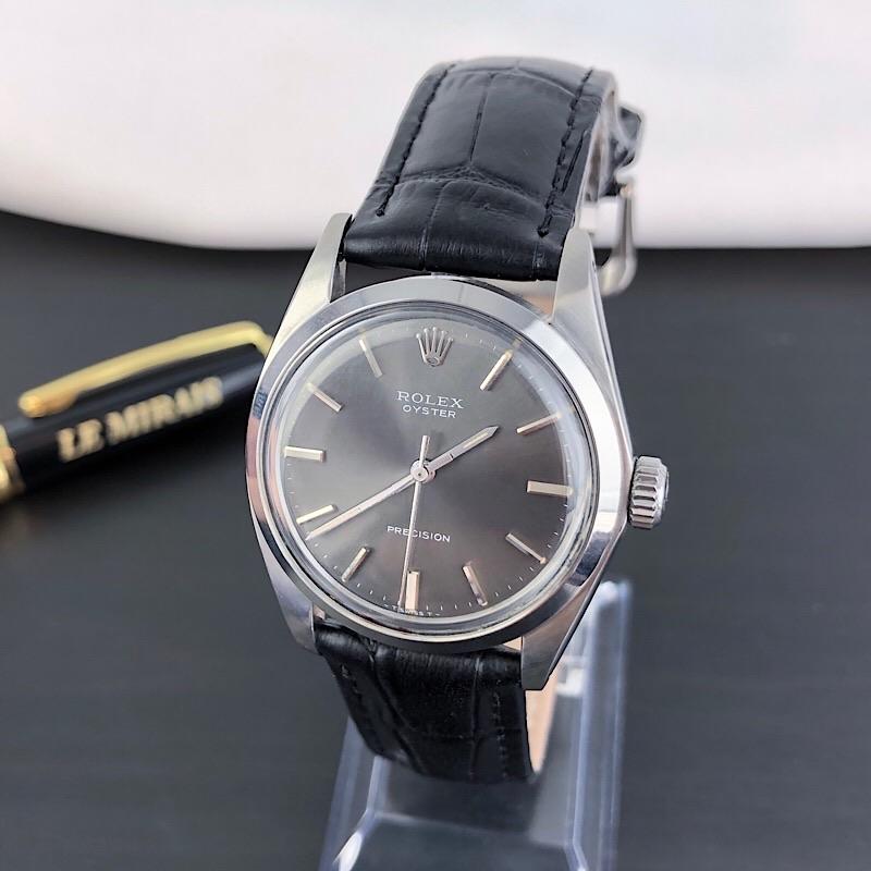 【仕上済/ベルト新品】ロレックス ROLEX オイスター シルバー メンズ 腕時計 時計【中古】【送料無料】