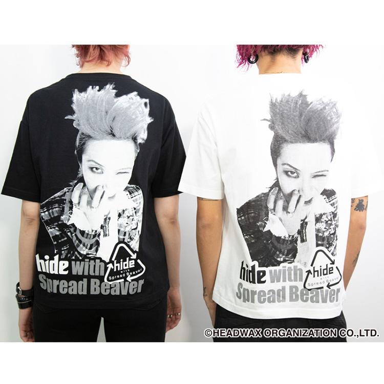 hideBirthdayParty2020ビッグシルエットTシャツ(ホワイト)