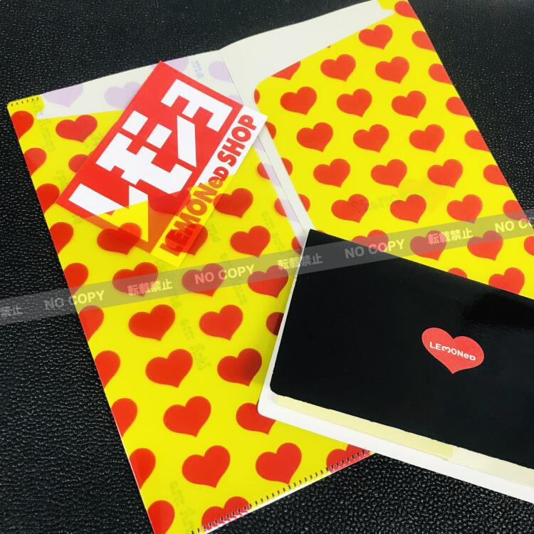 チケットファイル/イエローハート