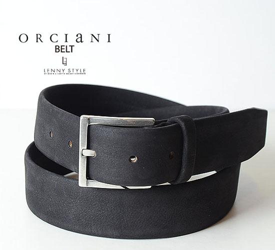 売り出し ORCIANI オルチアーニ 送料無料 ベルト-ブラック 人気ブランド多数対象