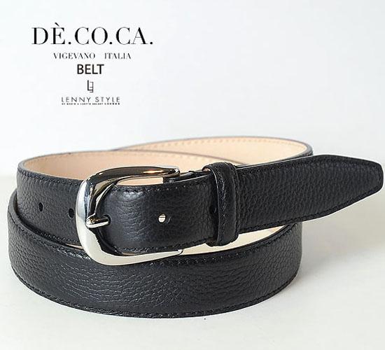 DE.CO.CA. (デーコカ)ベルト-ブラック【送料無料】