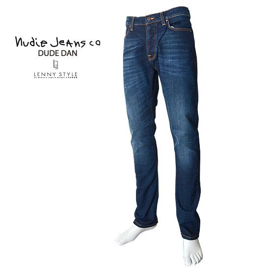 nudie jeans (ヌーディージーンズ)Dude Dan(デュードダン)DARK DEEP WORN【送料無料】