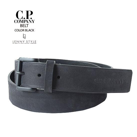 CPカンパニー(シーピーカンパニー)(C.P.COMPANY)ベルト-ブラック【送料無料】
