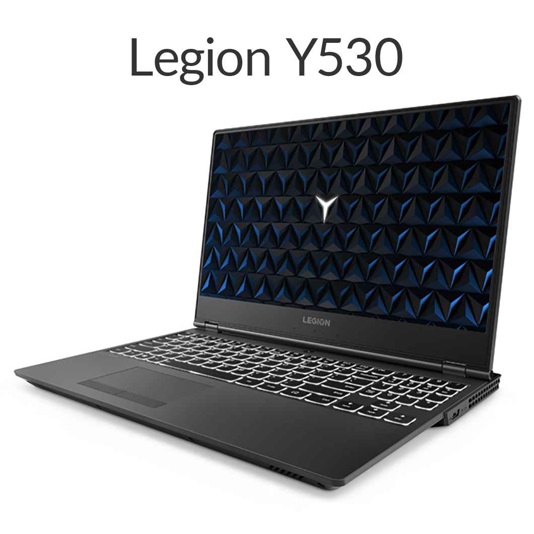 直販 ゲーミングPC:Lenovo Legion Y530 Core i7搭載(15.6型 FHD/8GBメモリー/1TB HDD/128GB SSD/NVIDIA GeForce GTX 1050 Ti/Windows10(英語版)/Officeなし/ブラック)【送料無料】