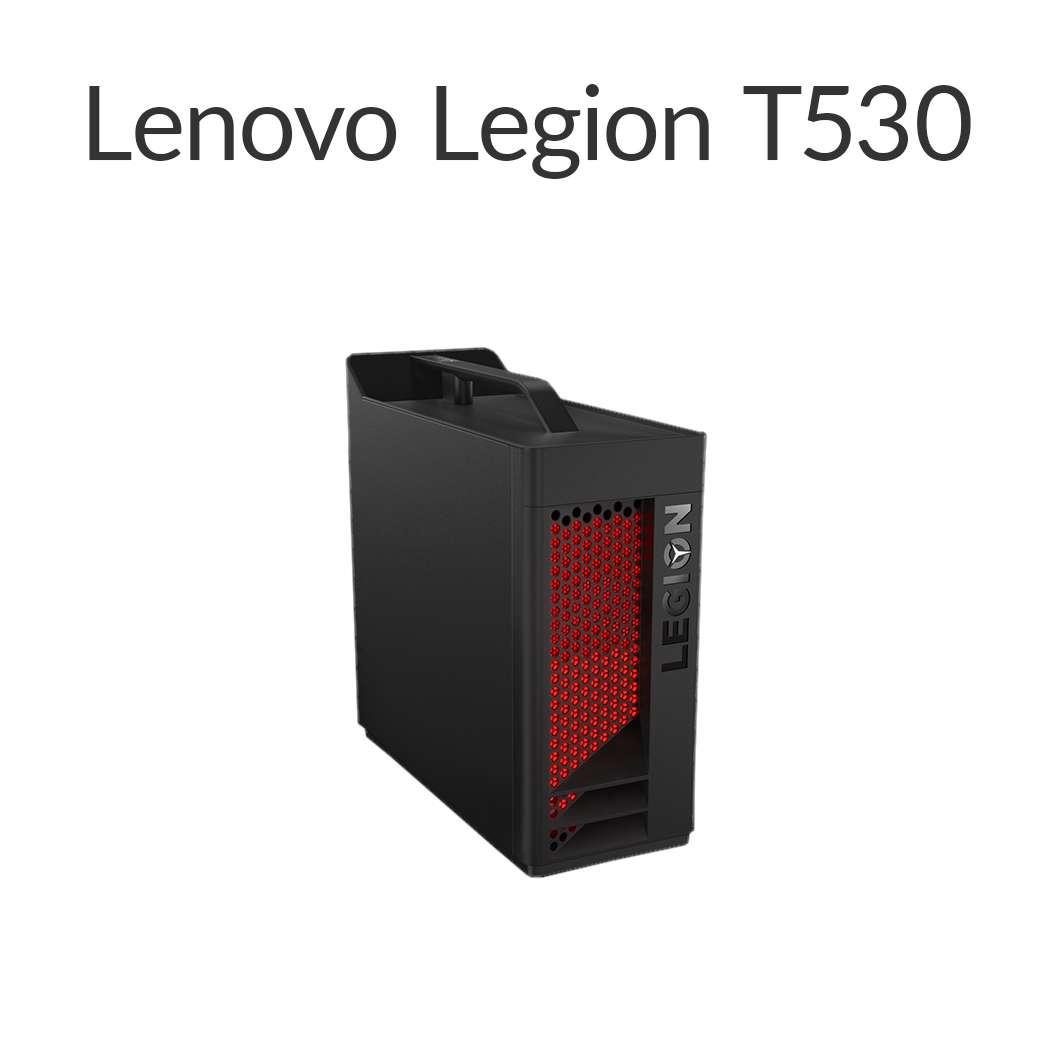 【今なら7,700円OFFクーポン】直販 ゲーミングPC:Lenovo Legion T530 Core i5搭載(8GBメモリ/256GB SSD/モニタなし/Officeなし/Windows10/ブラック)【送料無料】