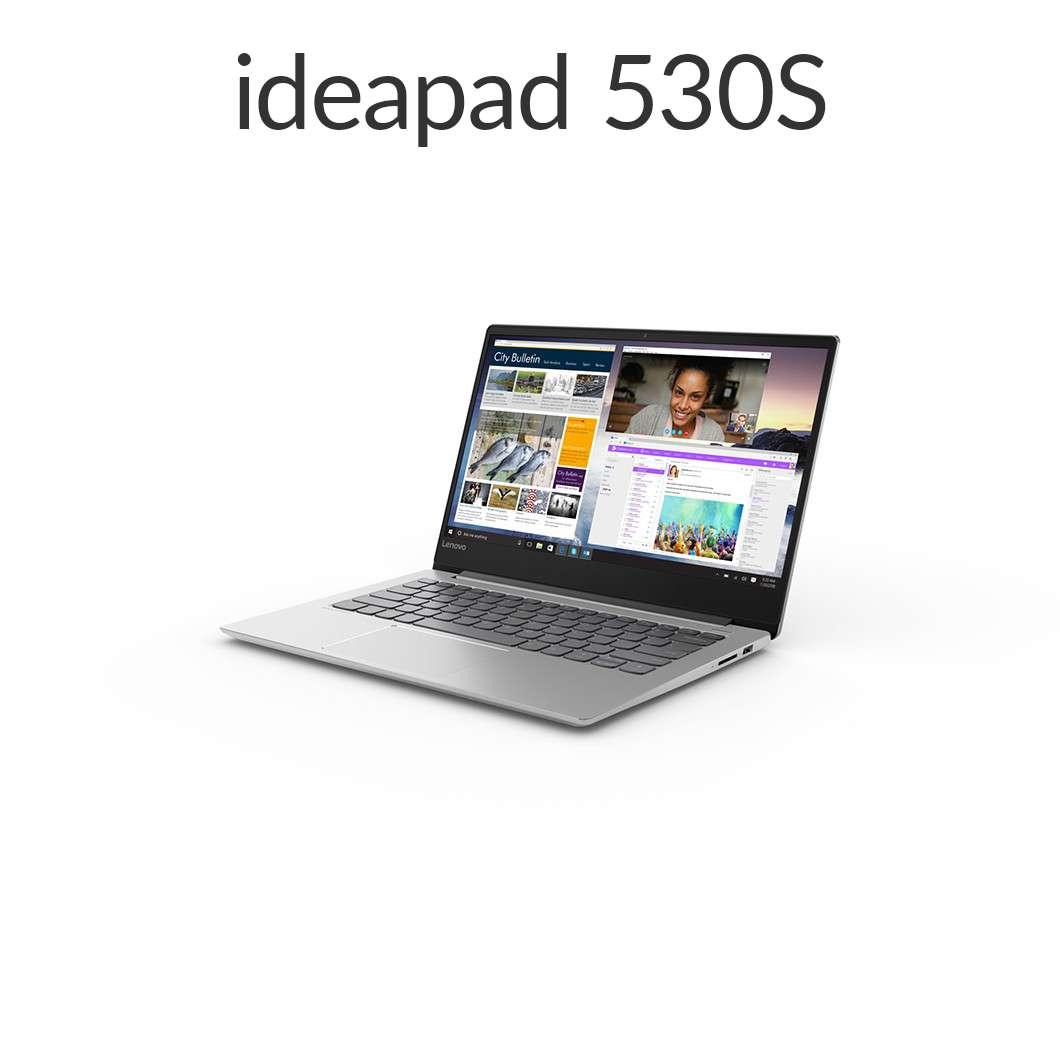 直販 ノートパソコン:Lenovo Ideapad 530S Core i3搭載(14.0型 FHD/4GBメモリー/128GB SSD/Windows10/Officeなし/ミネラルグレー)【送料無料】