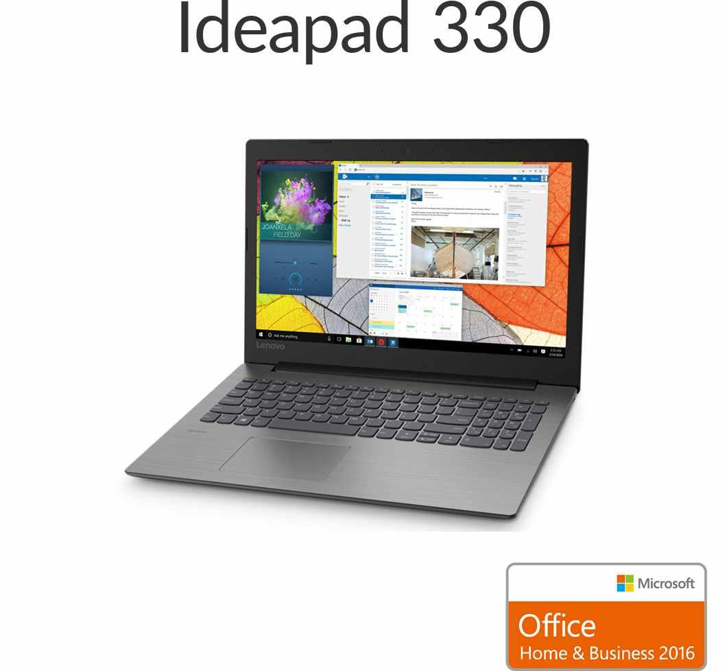 直販 ノートパソコン Officeあり:Lenovo Ideapad 330 Core i5-8250U搭載(15.6型 FHD/8GBメモリー/256GB SSD/Windows10/Microsoft Office Home & Business 2016/プラチナグレー)【送料無料】