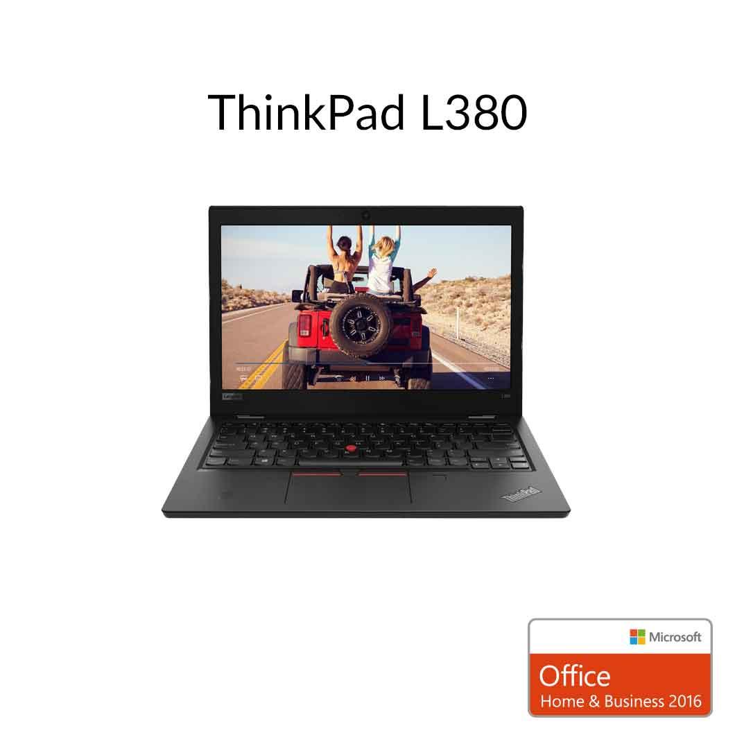 直販 ノートパソコン Officeあり:Lenovo ThinkPad L380 Corei3プロセッサー搭載モデル(13.3型 FHD/8GBメモリー/128GB SSD/Microsoft Office Home & Business 2016)【送料無料】