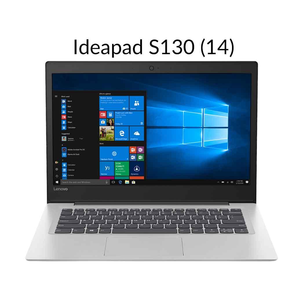 【3月30日23:59まで当店ポイント5倍!】直販 ノートパソコン:Lenovo Ideapad S130 Celeron搭載(14.0型 HD/4GBメモリー/128GB SSD/Windows10/Officeなし/ミネラルグレー)【送料無料】