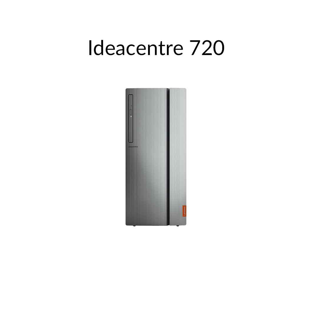 直販 デスクトップパソコン:Ideacentre 720 AMD Ryzen 7搭載(16GBメモリ/2TB HDD/256GB SSD/NVIDIA GeForce GTX 1050 Ti/モニタなし/Officeなし/Windows10)【送料無料】