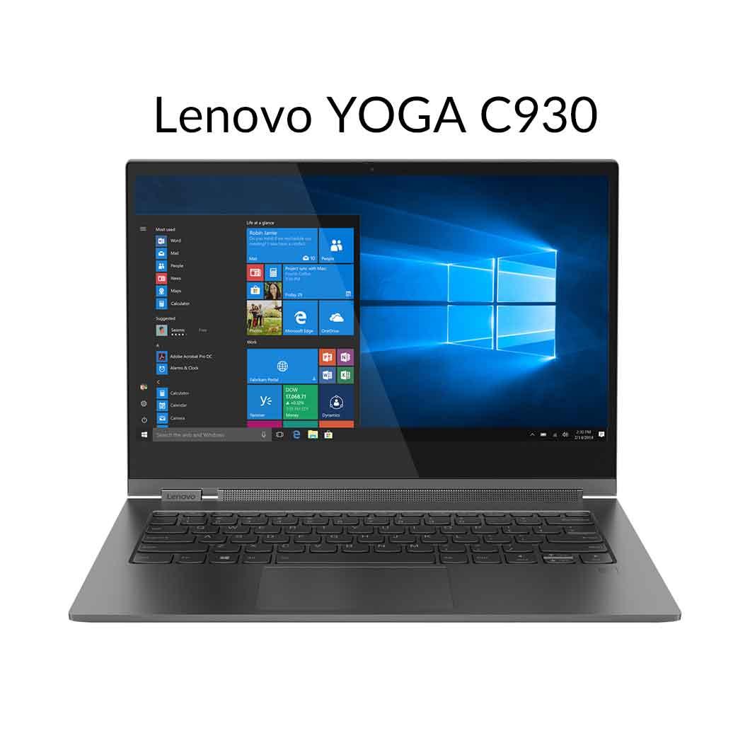 【エントリーでP10倍!4月16日01:59まで】直販 ノートパソコン:Lenovo YOGA C930 Core i7搭載(13.9型 UHD/8GBメモリー/256GB SSD/Windows10/Officeなし/アイアングレー)【送料無料】