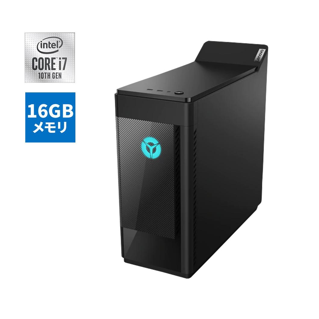 【今なら5,500円OFFクーポン】直販 ゲーミングPC:Lenovo Legion T550i Core i7搭載(16GBメモリ/1TB HDD/256GB SSD/NVIDIA GeForce GTX 1650 SUPER/モニタなし/Officeなし/Windows10/ブラック)【送料無料】