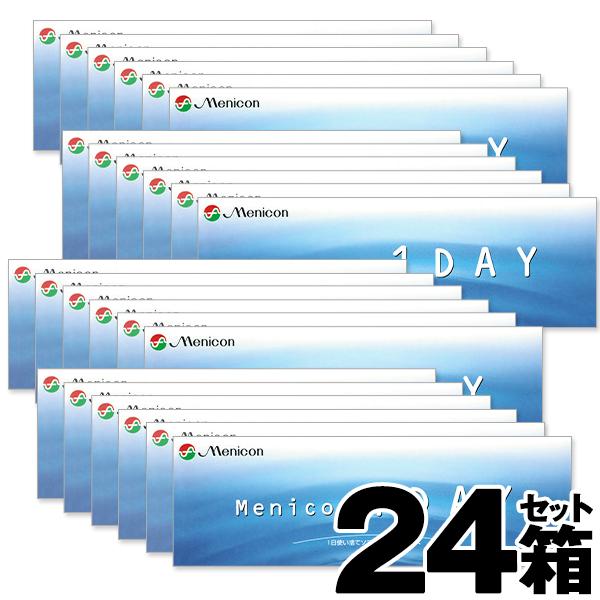 メニコンワンデー 30枚 24箱セット 1日使い捨て コンタクトレンズ ワンデー 1day ワンデーコンタクトレンズ コンタクト ワンデイ メニコン1day 1デー 一日 1日 bc8.6 1デイ コンタクトレンズ