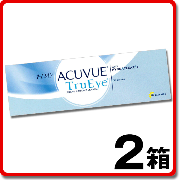 e1bc613713b4b5 Contact lens Lens deli  1 Day Acuvue TruEye 30 sheets 2 boxes ...