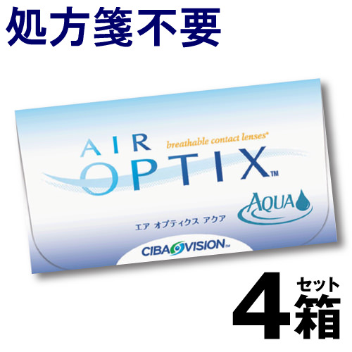 Airoptiksaka 6 件 x 4 盒套隱形眼鏡 2 周