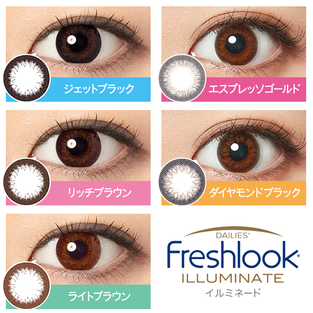 Contact Lens Lens Deli Fresh Look Dailies New Box 1 Day