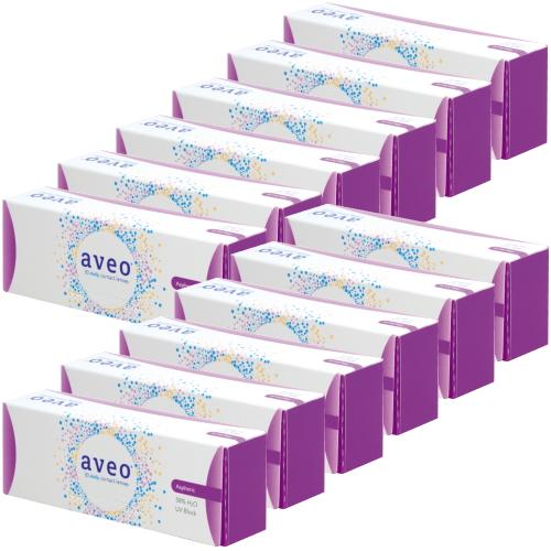 【送料無料】【12箱】 アベオワンデー 30枚入り 12箱 アイミー コンタクトレンズ 1日使い捨て UVカット うるおい成分 Aime aveo 1day