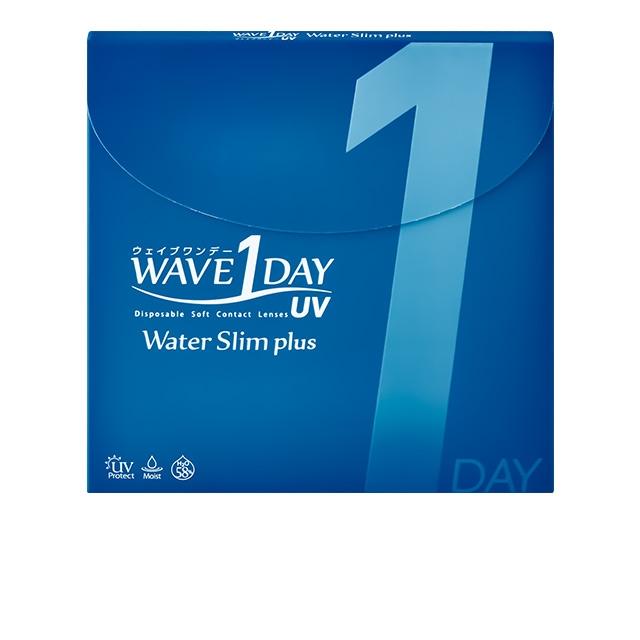 1箱 WAVEワンデー UV ウォータースリム plus 30枚入り 1day ワンデー 世界の人気ブランド コンタクト ウェイブ コンタクトレンズ ソフト UVカット機能付き クリア 高含水 宅配便送料無料 1日使い捨て WAVE