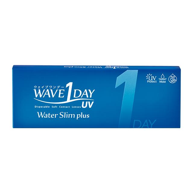 1箱 WAVEワンデー UV ウォータースリム plus 5枚入り 1day ワンデー コンタクト コンタクトレンズ 低価格化 お試しパックが登場 ソフト 高含水 WAVE クリア お試しキット UVカット機能付き ウェイブ 無料 1日使い捨て