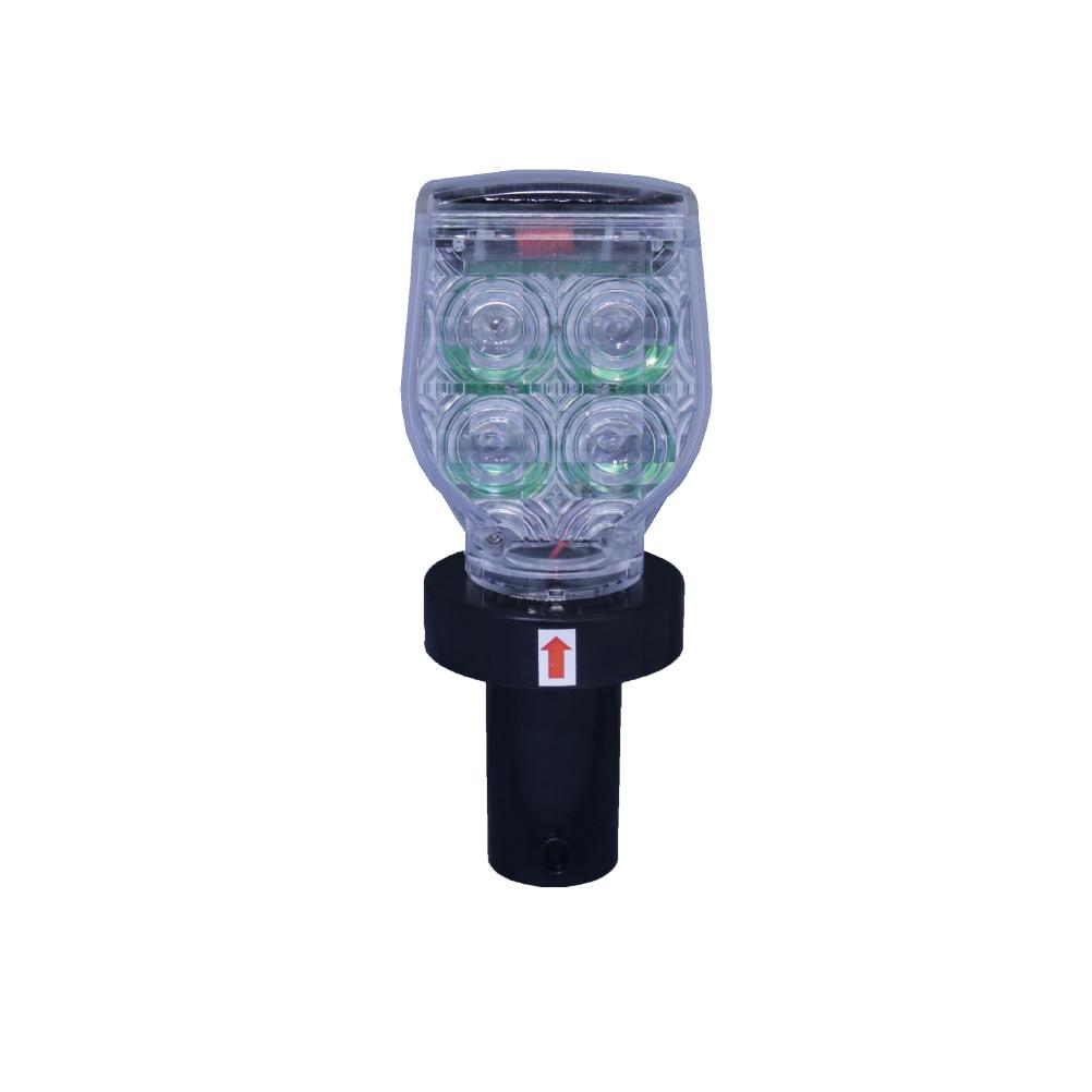 ソーラー式 LED点滅灯 同期機能付き 10個セット